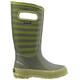 Bogs Kids Rainboot Stripe Olive